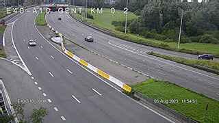 Caméra trafic Belgique - E40 (A10) vers Gand/Ring de Bruxelles