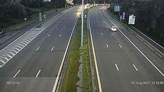 Caméra trafic Belgique - R0 (Ring de Bruxelles), Anderlecht direction Halle
